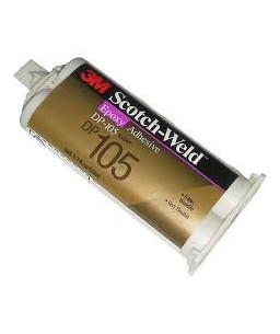 3M™ Scotch-Weld™ Εποξική Κόλλα 2 Συστατικών Διάφανη DP100