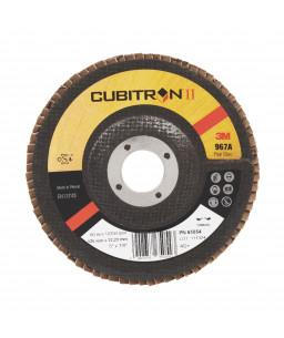 3M™ Cubitron™ II Δίσκος Λείανσης Flap Υπο Γωνία 967A 125 x 22,23mm