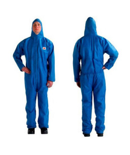3M™ Protective Coverall 4515 Type 5/6 Blue