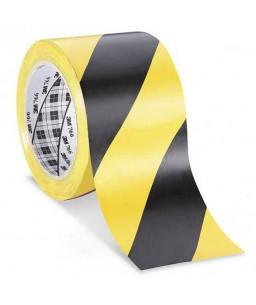 3M™ Ταινία Σήμανσης Βινυλίου Κίτρινη/Μαύρη  50mm X 33Μ 766i