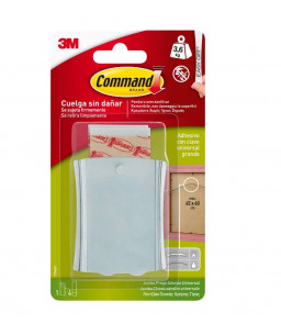 Command™ Sticky Nail Wire-Back Hanger - 17048 (3.6kg)