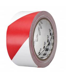 3M™ Ταινία Σημανσης Βινυλίου Κόκκινη/Λευκή 50mm X 33Μ 767