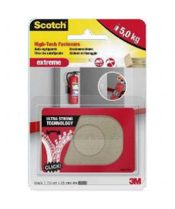 3M™ Scotch™ Clear Outdoor Fasteners RF6730 Extreme