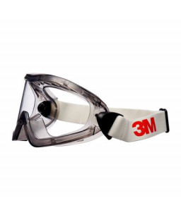 3M™ Safety Goggles, Indirect Vented, Anti-Scratch / Anti-Fog, Clear Lens, 2890