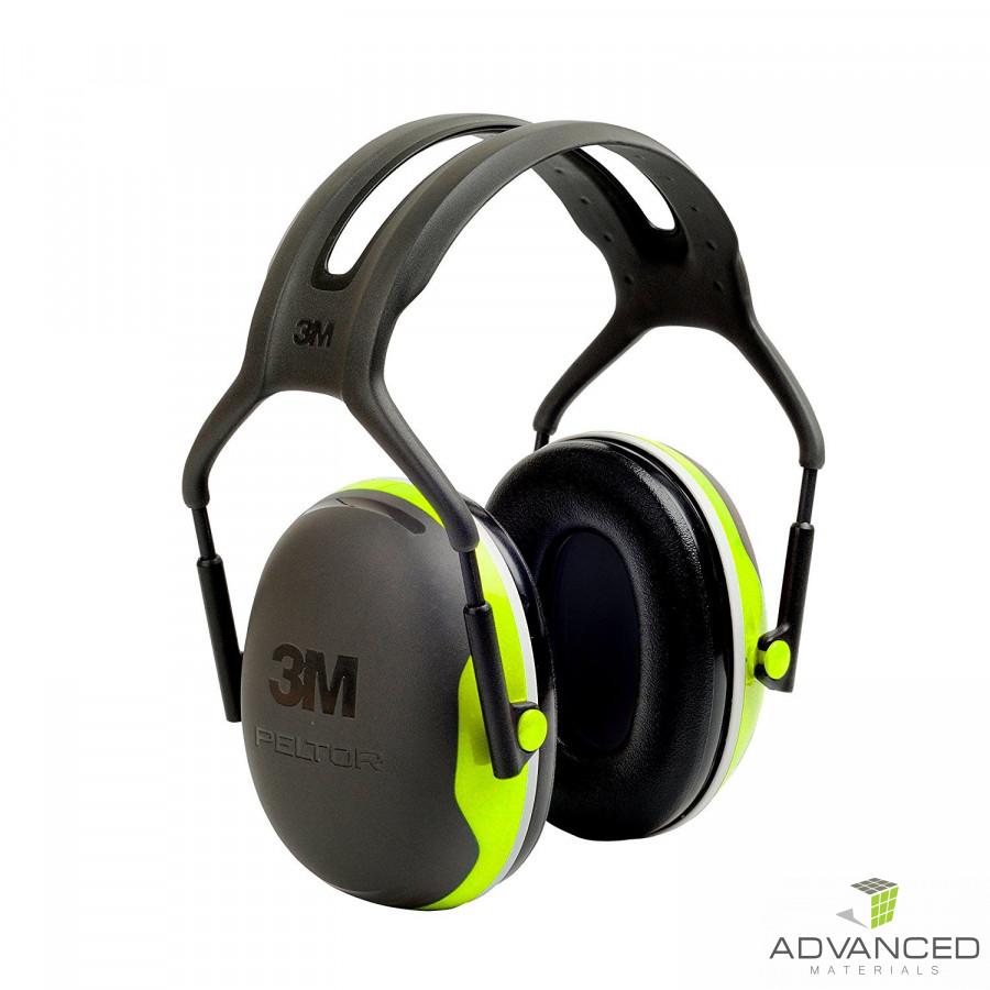 3M™ PELTOR™ Earmuffs X4A Hi-Viz 33dB