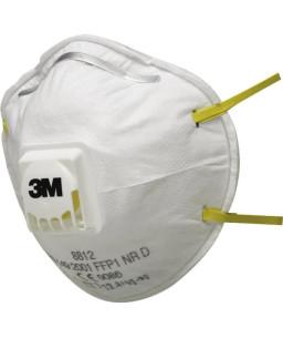3M™ Particulate Disposable Respirator Valved 8812 FFP1