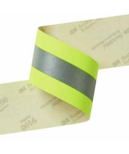 9687 3Μ Fluorescent Lime-Yellow Fire Coat Trim 50,8mm x 1M