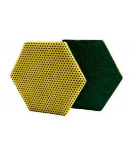3M™ Scotch-Brite™ Επαγγελματικο Σφουγγάρι διπλής χρήσης 96HEX 147mm x 127 mm