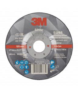 3M™ Silver Depressed Centered Grinding Wheel