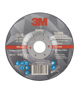 3M™ Silver Δίσκος Λείανσης