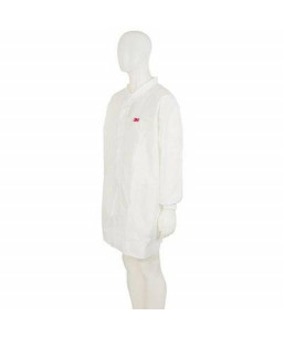 3M™ Disposable Lab Coat White