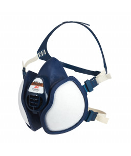 3M™ Half Facepiece Reusable Respirator Maintenance Free 4255+