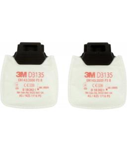 3M™ Secure Click™ Φίλτρο Σωματιδίων D3135 P3 R