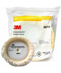 3M™ HOOKIT™ White Wool Compounding Pad 230mm 05711