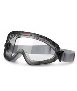 3M™ Γυαλιά Κλειστού Τύπου Έμμεσου Εξαερισμού Αντιθαμβωτικοί Διαφανείς Φακοί Ακετάλης 2890A