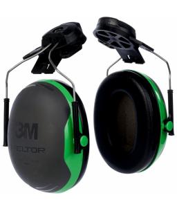 3M™ Peltor™ Ωτοασπίδες 26 dB Πράσινες Στήριξη σε Κράνος X1P3