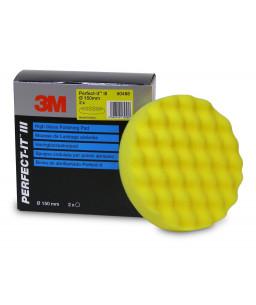 3M™ Perfect-It™ Σφουγγάρι Γυαλίσματος Κίτρινο Ανάγλυφο 150mm 50488