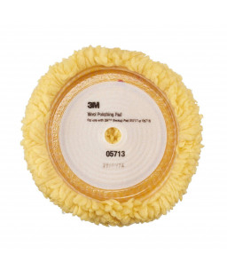 3M™ HOOKIT™ Γούνα Γυαλίσματος Κίτρινη Μονης Όψης 230mm 05713