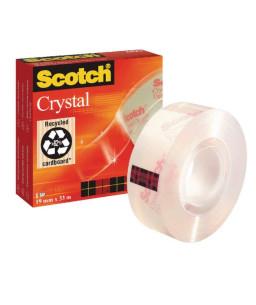 3M™ Scotch® Crystal Clear Τape 600 19mm X 33M