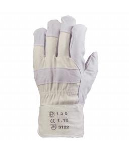 COVERGUARD δερματοπάνινα γάντια 150