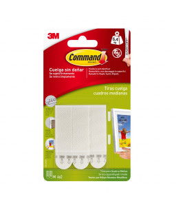 3M™ Command™ Picture Hanging Strips Medium Size 17201
