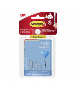 3M™ Command™ Mounting Strips 8 Small - 4 Medium - 4 Large W17200