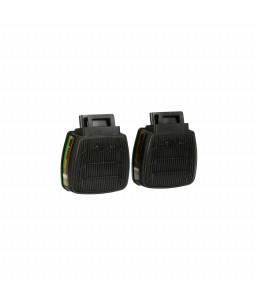 3M™ Secure Click™ Φίλτρο Αερίων και Ατμών με Διπλή Ροή D8059 ABEK1
