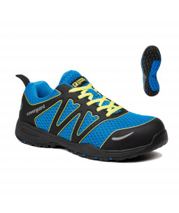 9GYP210 GYPSE SAFETY SHOES LOW BLUE AND BLACK S1P SRA