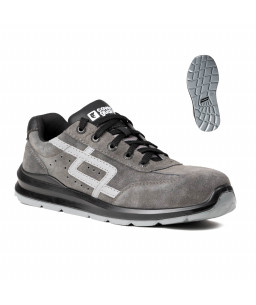 9GAL500 GALENA SAFETY SHOES LOW GREY AND BLACK S1P SRC