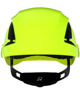 3M™ SecureFit™ Κράνος Ασφαλείας, X5514V-CE, Πράσινο Hi-Viz, Με Εξαερισμό, CE