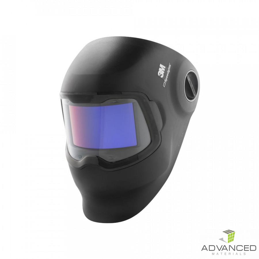 3M™ Speedglas™ Κράνος Συγκόλλησης G5-02 με Καμπύλο Φίλτρο Συγκόλλησης, Κεφαλόδεσμο, Πανί Καθαρισμού και Θήκη, 621120